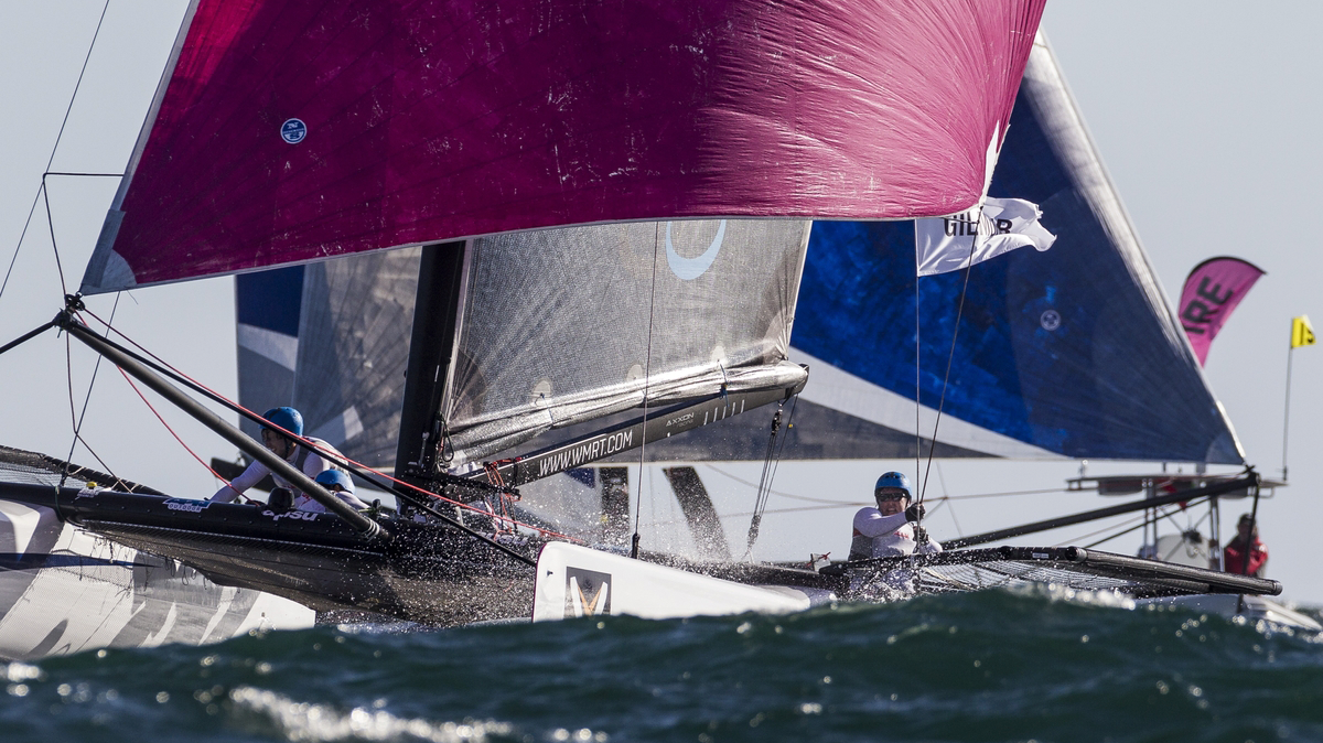 Locals Vying for Three Remaining Slots at World Match Racing Tour Newport