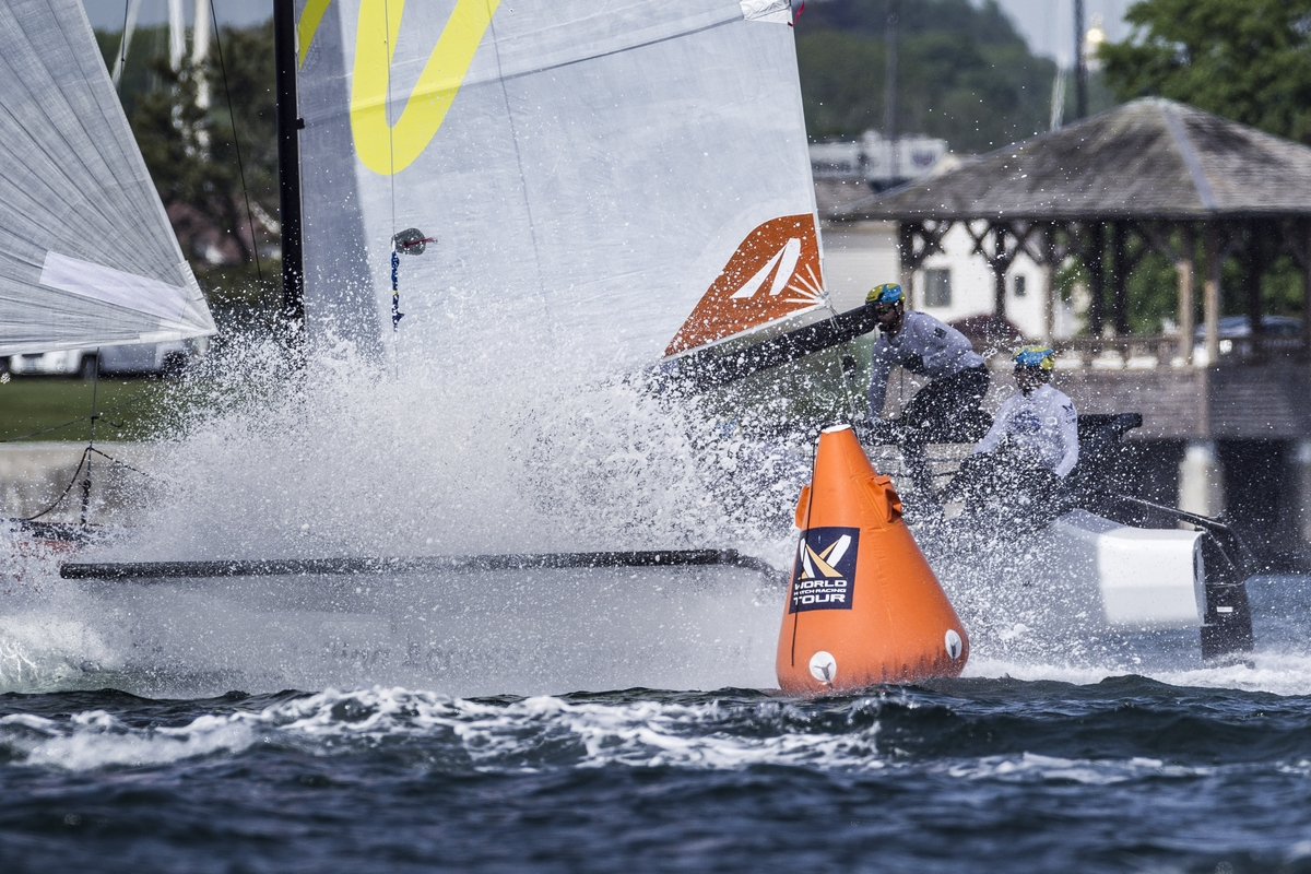 A Clash Of Backgrounds On Collision Course For Marstrand