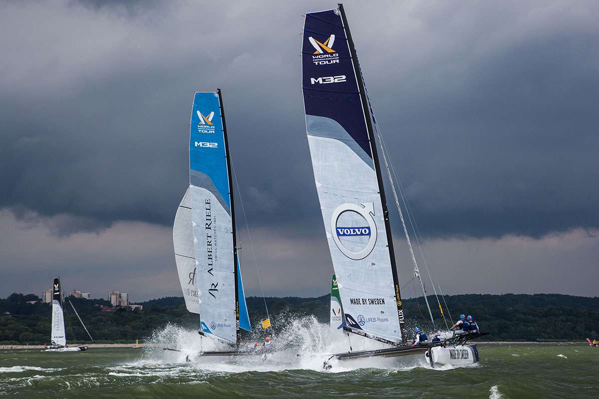 Gilmour and Dackhammar two horse race in Sopot
