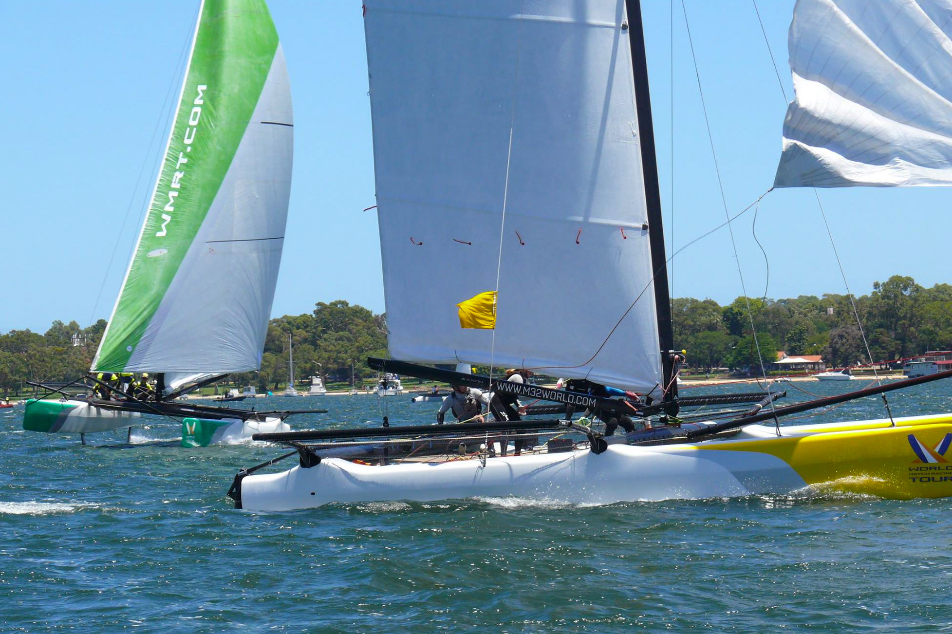 Kiwis Lead The Foreign Attack At WMRT Swan River Match Cup