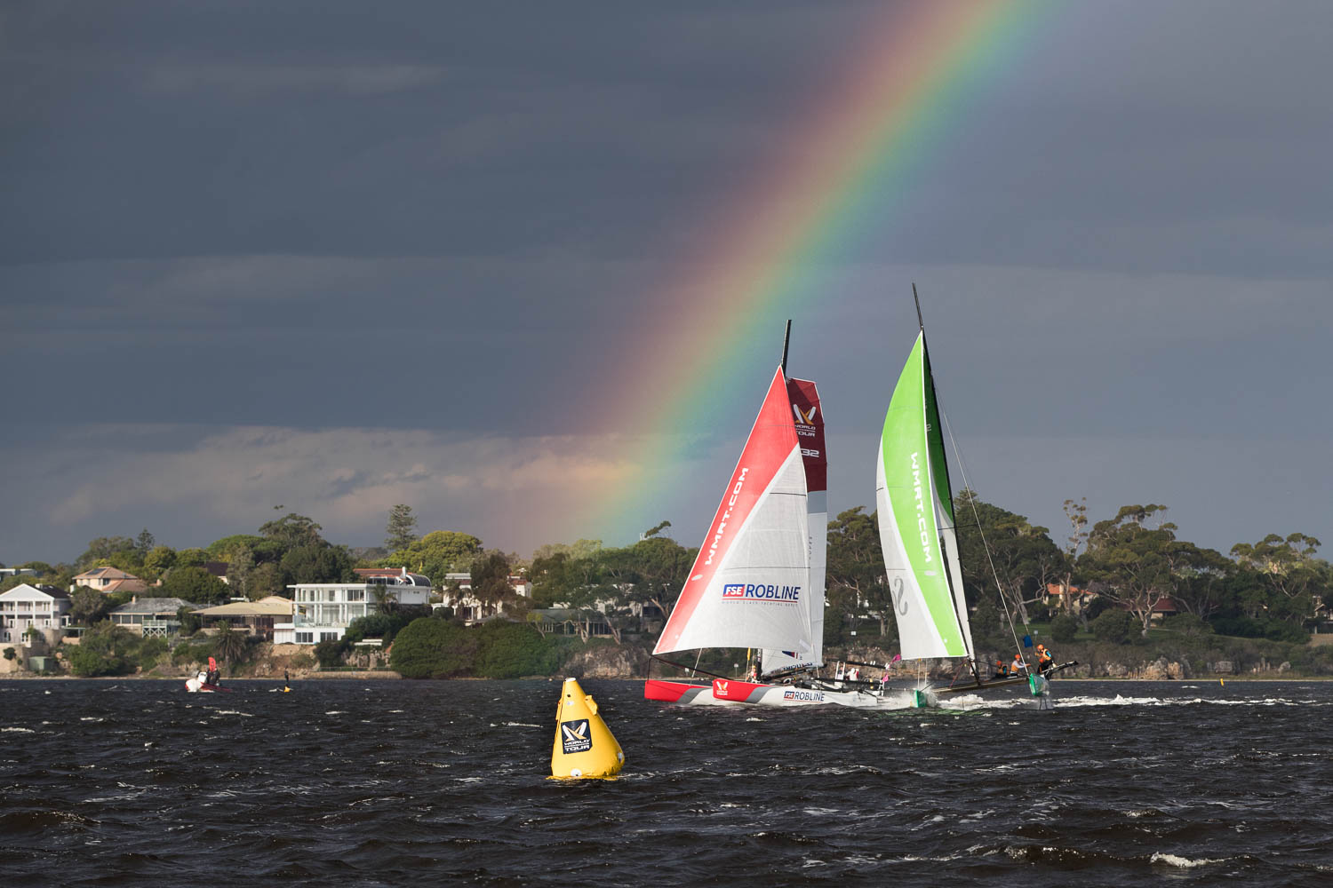 Pot of gold at the end of the WMRT Rainbow
