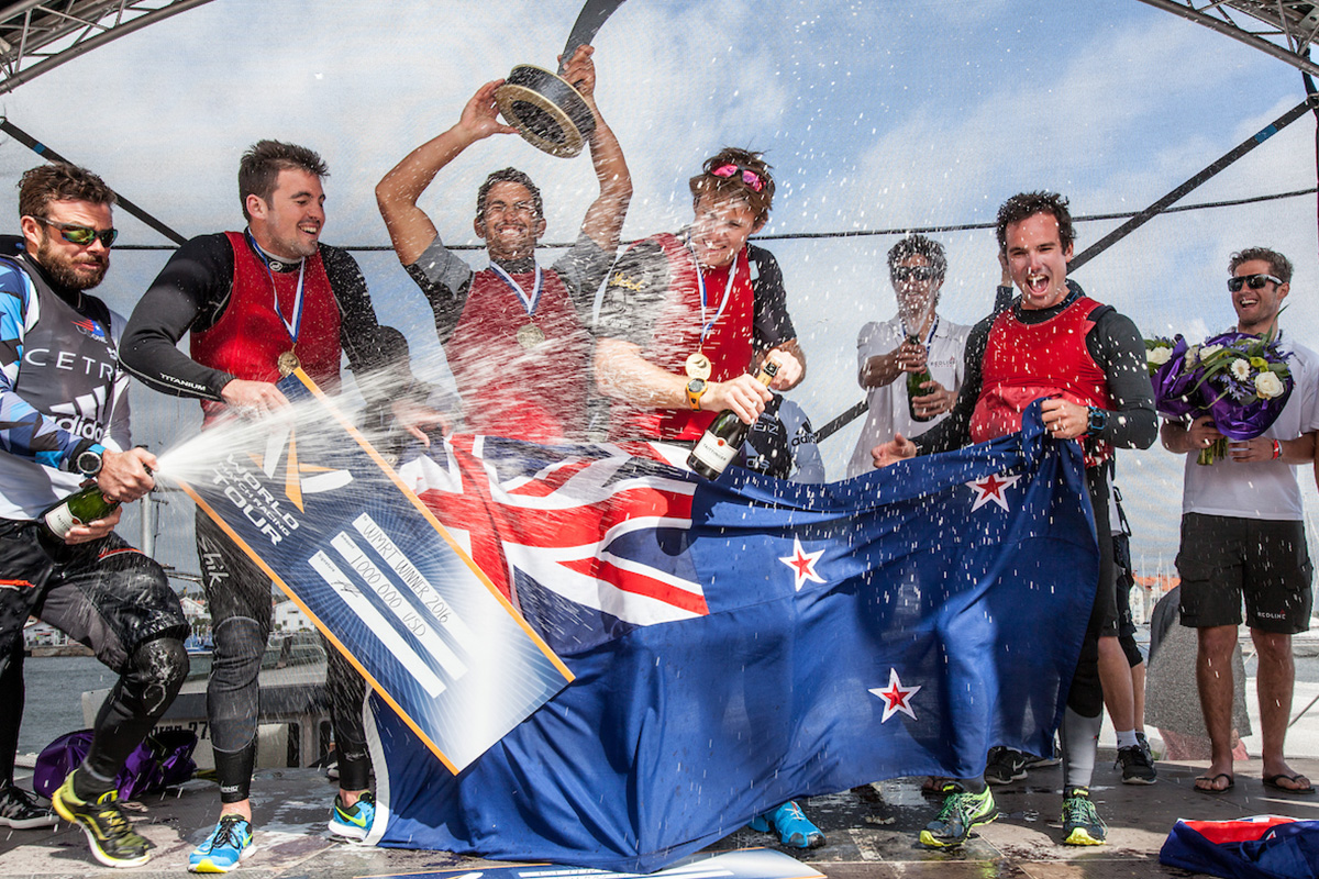 Match Racing World Champion Robertson Returns With Tour Card To Defend Title