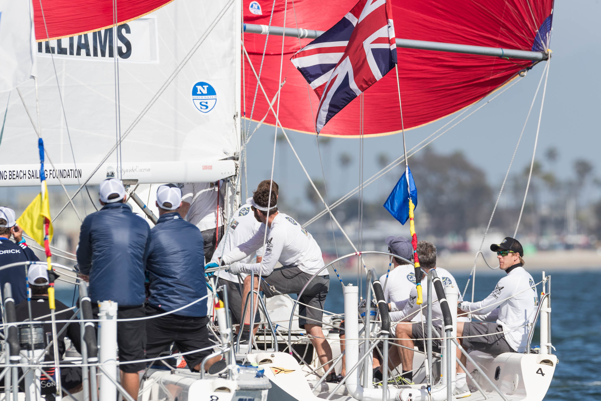 BERNTSSON AND WILLIAMS ON THE BRINK AT CONGRESSIONAL CUP