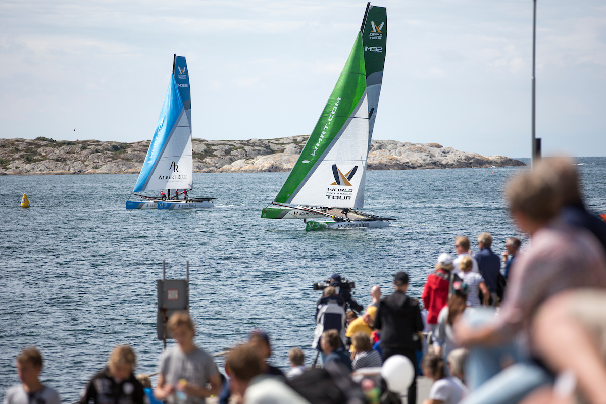 over the crowds at Marstrand