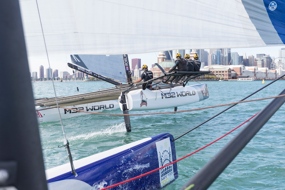 Spindrift Racing at Chicago Match Cup Day 1