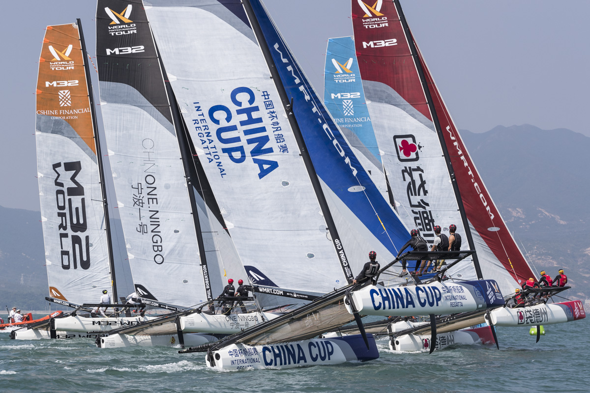 America's Cup Veterans Battling for Survival in Sail Off