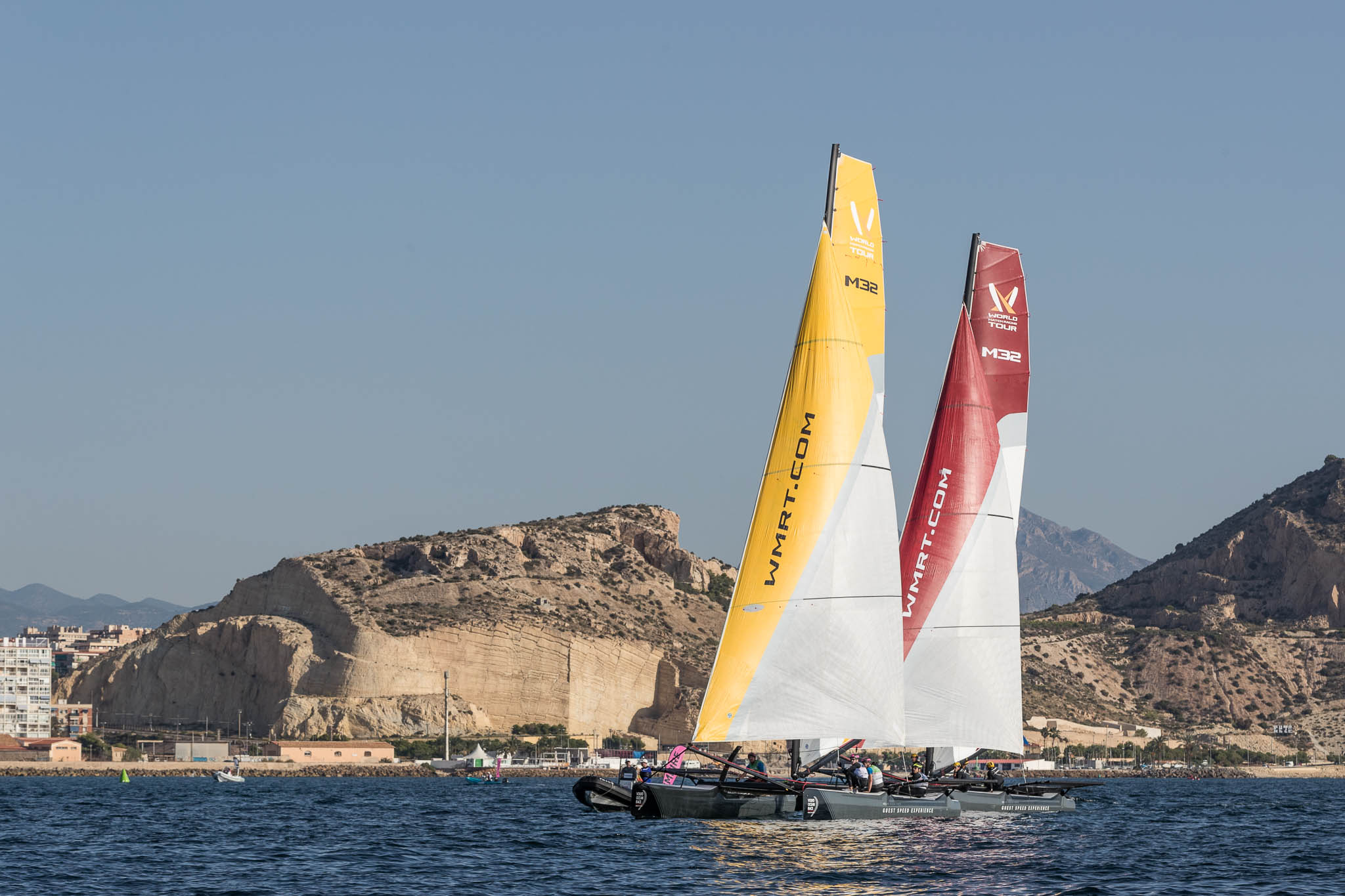 match racing in alicante VOR