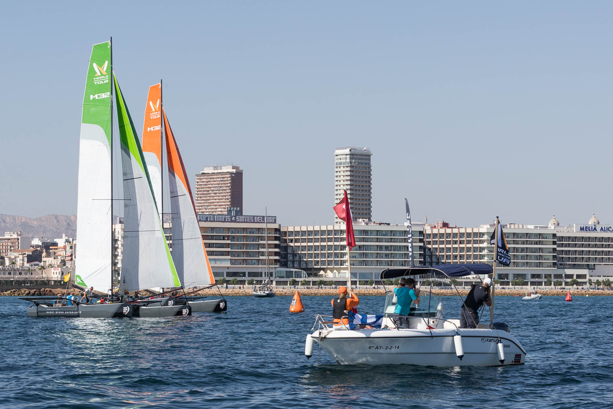 VOR alicante start quarter final